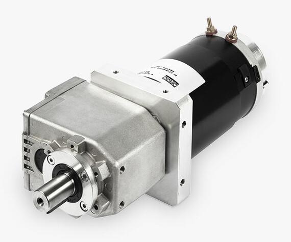 MRI - Motoriduttore elettrico assi paralleli ventilato